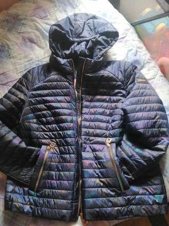 Нова димісизонна куртка радуга 50-52розміру. Ціна 1200грн.