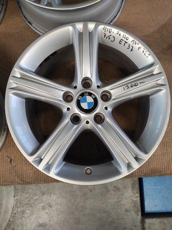 410 Felgi aluminiowe ORYGINAŁ BMW R17 5x120 otwór 72,5 Bardzo Ładne