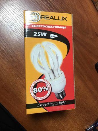 Энергосберегающая лампа Realux Lotus 18W E27 2700k