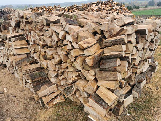 Drewno opałowe kominkowe DĄB BUK BRZOZA OLCHA SOSNA