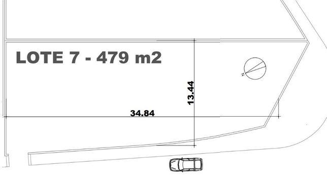 Lote de terreno plano urbano com 480m2
