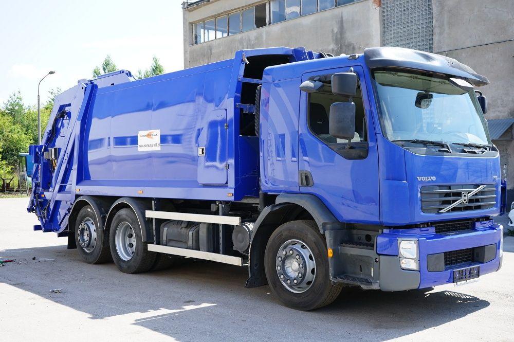 Volvo FE 320 śmieciarka 6x2 JOAB 19m3 EURO 5 W CAŁOŚCI NA CZĘSCI