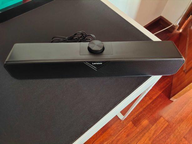 Soundbar Nova Lenovo USB/AUX