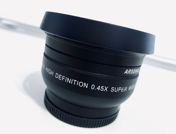 Широкоугольная Насадка Digital High Definition 0,45x 52mm