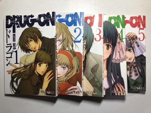 """Manga """"Drug-On"""" tomy 1-5"""