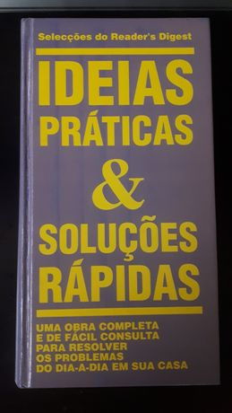 """Livro """"Ideias práticas & soluções rápidas"""""""