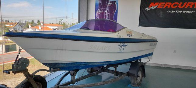 Barco ARGUS 400 SPORT com o motor JOHNSON 35HP,   ISENTO do IUC
