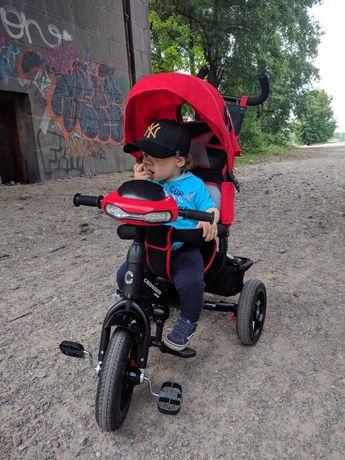 Детский трехколесный велосипед Crosser One T1 с надувными колесами