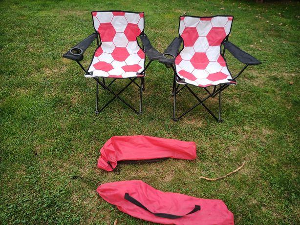 2 krzesła turystyczne / wędkarskie, zamiana.