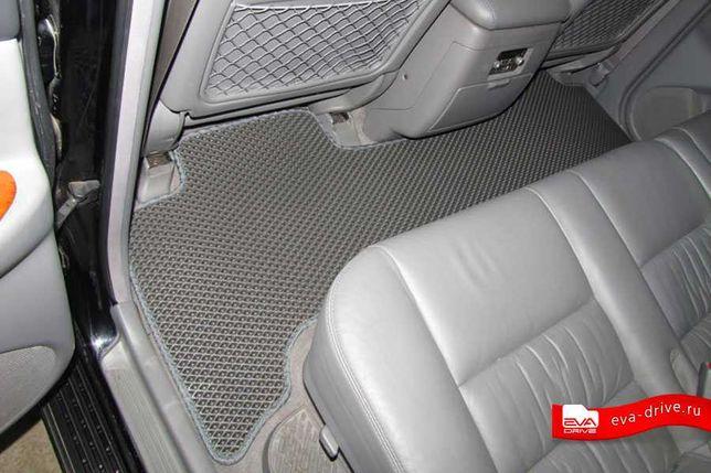 2999р. Коврики EVA для Toyota Land Cruiser 100 + багажник