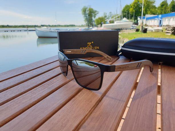 Okulary Przeciwsłoneczne KINGSEVEN SilverWood