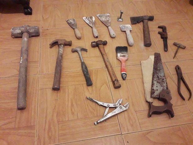 Conjunto de várias ferramentas