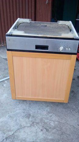 Porta de madeira de máquina de lavar loiça de encastrar