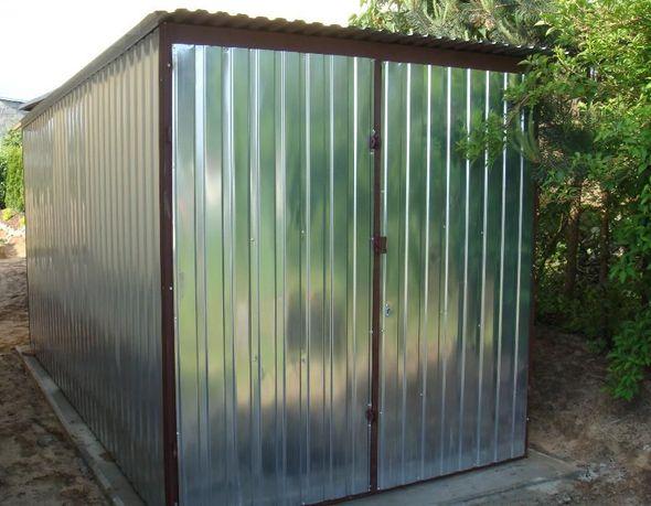 Garaż 2x4, schowki, magazynek na budowę, transport i montaż gratis