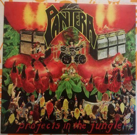 Disco de Vinil   Pantera - Projects In The Jungle