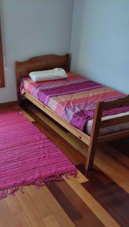 Cama + segunda cama de gavetão