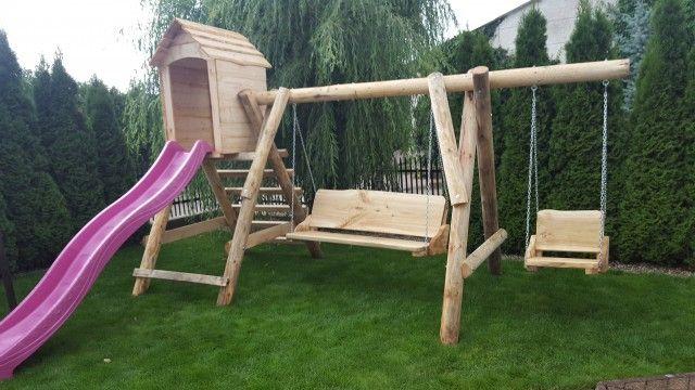 huśtawka ogrodowa - plac zabaw promocja/ meble ogrodowe/ławka ogrodowa