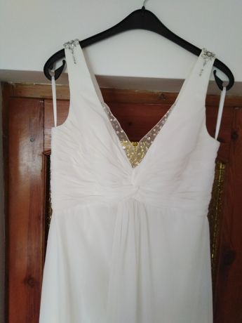Suknia ślubna 42 na wysoką panią