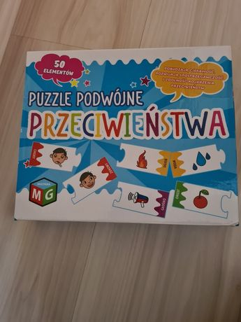 Multigra, Przeciwieństwa, puzzle, gra edukacyjna