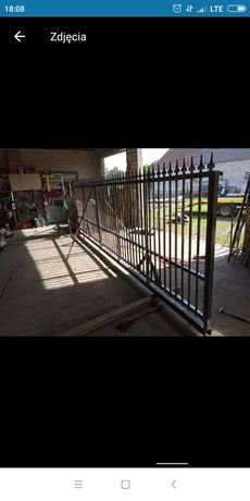 Bramy bramki furtki konstrukcje bramowe ogrodzenia usługi ślusarskie
