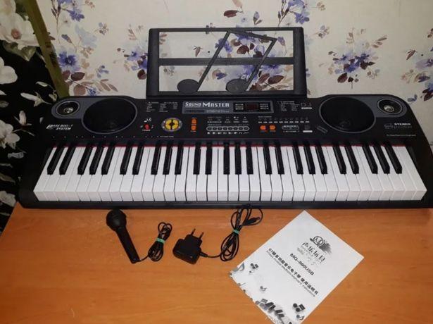 Детский музыкальный синтезатор MQ 860 USB пианино - орган
