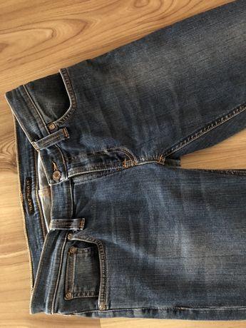 Sprzedam długie spodnie jeans stan idealny okazj