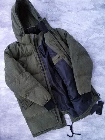 Мужская теплая зимняя парка, куртка, есть большой размер,баталы