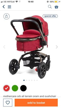 Mothercare orb wózek
