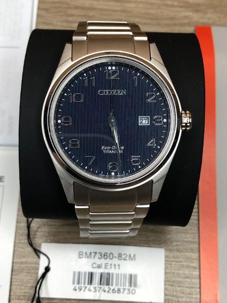 Часы Citizen BM7360-82M Eco-Drive Titanium