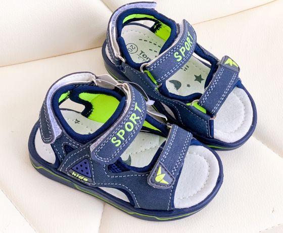 Акция!Цена снижена! Летние сандалии босоножки для мальчика 20-25 TOM.M