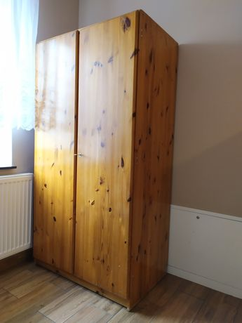 Sosnowa szafa 2-drzwiowa | 174x90x57
