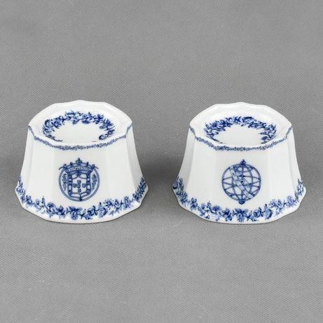 Par de saleiros Porcelana estilo Companhia das Índias, Conventual Porc