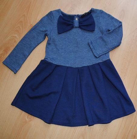 38-> sukienka z kokardą GEORGE r.92 18-24mca