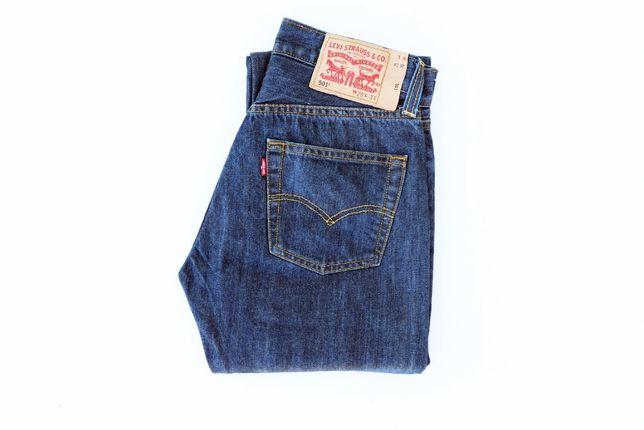 Męskie spodnie Levi's 501 W28 L34 jeansy Levis jak nowe