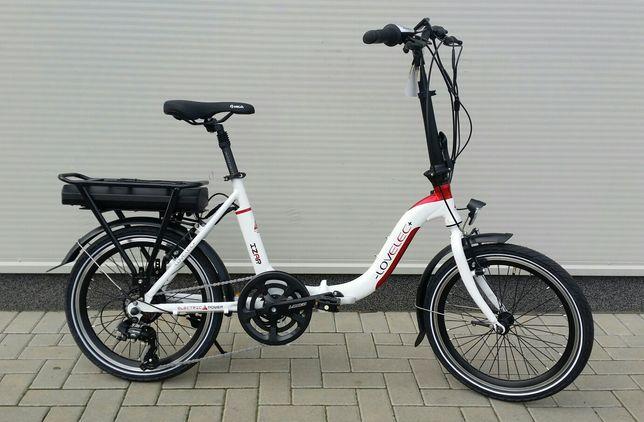 "Rower elektryczny Lovelec Izar składak bat.10Ah 20"" 47-0019"
