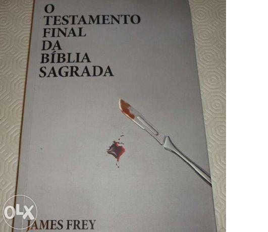 """Vendo livro"""" O testamento final da Bíblia Sagrada"""""""
