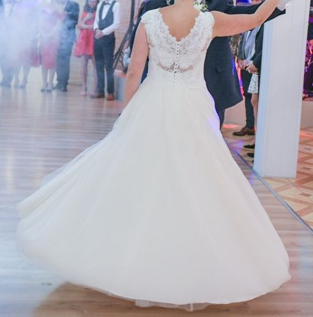 suknia ślubna rozmiar 40 literka A