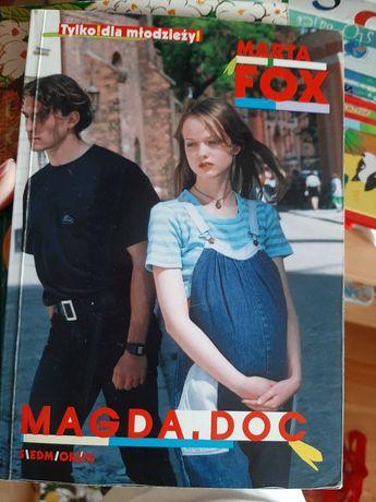 Książka Magda.doc Marta Fox