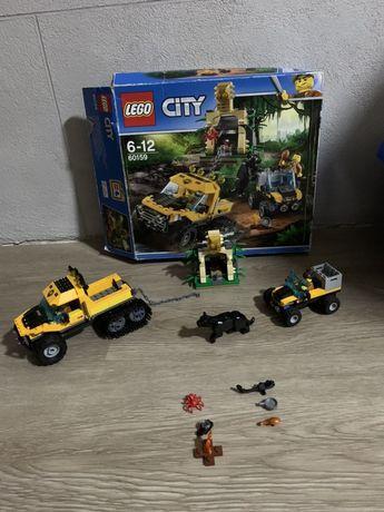 LEGO Лего 60159 джунгли машины