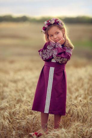 """Чарівне плаття для дівчинки """"Квіткове"""" від тм """"Калина"""""""