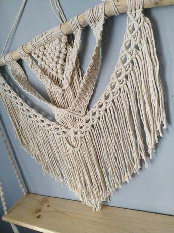 Półka makrama handmade