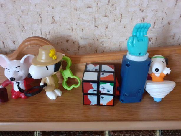 Іграшки з макдональдса за 5 шт 60 гривнів