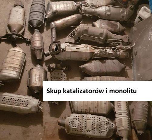Skup katalizatorów i monolitu Gdańsk Gdynia Słupsk Chojnice Lębork