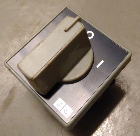 Przełącznik włącznik obrotowy maszynowy 25A np. do szlifierki stołowej