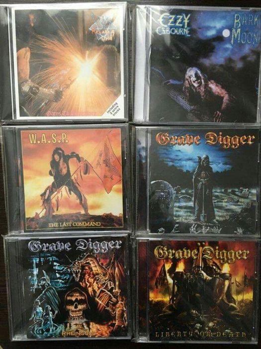 Running Wild CD (W.A.S.P.,Ozzy Osbourne,Grave Digger,Accept,Udo) Зборов - изображение 1