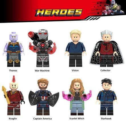 Coleção Bonecos / Minifiguras Super Heróis nº112 - compativeis c/ Lego