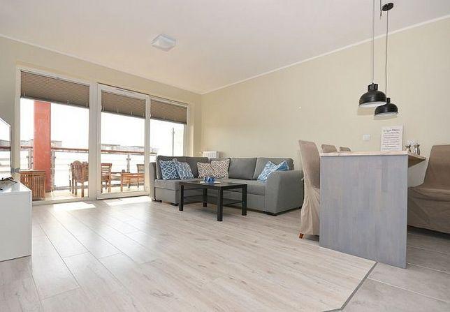 Nocleg Darłówko - apartament 46m2 - 350m do morza - 2 pokoje+balkon