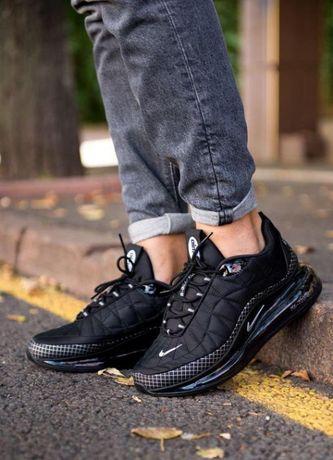 Мужские кроссовки Nike Air Max 720 - 818 Black Черные 41-45 размеры