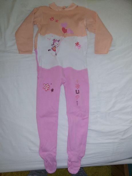 Pajac rampers kombinezon piżama 92/98