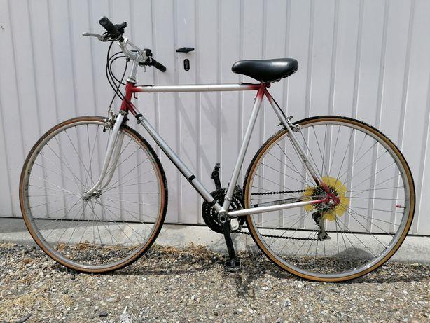 Bicicleta de ciclismo vintage